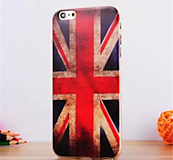 For iPhone 6 Case / iPhone 6 Plus Case Pattern Case Back Cover Case Flag Soft TPU iPhone 6s Plus/6 Plus / iPhone 6s/6