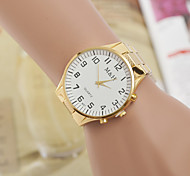 Men's Watches Yellow White Gold Watches with Fashion