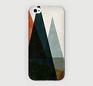 Bergtyp muster pc phone case Schutzhülle für iPhone 6 Fall