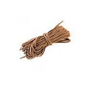 18m pulsera collar marrón gamuza sintética plana de 2 mm cable de hilo de encaje de cuero