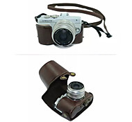 Dengpin® Protective Detachable Leather Camera Case Bag Cover with Shoulder Strap for Olympus E-PL7 (Assorted Colors)