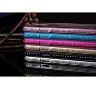 High Quality Diamond Metal Bumper Transparent TPU Back Cover for Samsung Galaxy S5 I9600