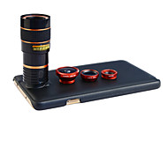 Apexel 4 in 1 Lens Kit 8X Telephoto Lens +Wide-angle+Macro Lens +Fisheye Lens with Back  Case for Samsung Galaxy Note 3