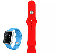 Silicone Watch Band for Apple Watch 38 MM(Assorted Colors)