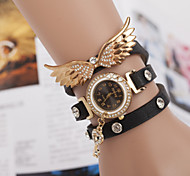 Angel Wings Bracelet Watch Three Winding Watch