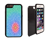 Pretty Lotus Pattern 2 in 1 Hybrid Armor Full-Body Dual Layer Shock-Protector Slim Case for iPhone 6 Plus
