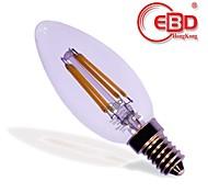 Lámparas LED de Filamento EBD® C E14 W EPISTAR, 27 x 4 Pcs LED Integrado 250 Lm LM V 1 pieza