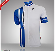 Getmoving®Women's/Men's  Cycling Short Sleeve Jerseys With 100% Polyester
