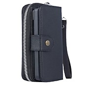 iPhone 7 Plus Special Design Genuine Leather Wallet Case Full Body Cases with Stand for iPhone 5/5S