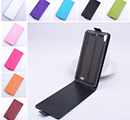 Protective PU Leather Magnetic Vertical Flip Case for Kazam Tornado 348(Assorted Colors)