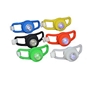 Colorful Big Eyes Frog Taillight Warning Lights Bike Lights Mountain Bike Silicone