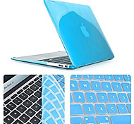 Top Quality Slim Crystal Full Body Case with Keyboard Cover for Macbook Pro 13.3 inch (Assorted Colors)