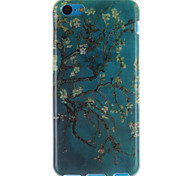 Apricot Blossom Design TPU Soft Cover for iPhone 5C