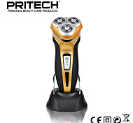 New PRITECH Brand Men Shaver Waterproof Shaver With Floating Heads Stand Rechargeable 3d  High Quality