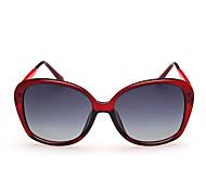 Sonnenbrillen mujeres's Klassisch / Elegant / Modern / Modisch überdimensional Schwarz / Weiß / Rosa / Rot Sonnenbrillen Vollrandfassung