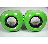Allspark ® apple mini Multimedia-Lautsprechersystem (grün)