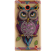 Personality Owls TPU Soft Case for Nokia N630