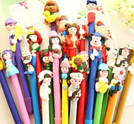 Handwork Cartoon Style BallPoll Pen (Random Color)