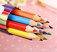 12 Colours Bottled Pencil (random color)(12 PCS/Set)