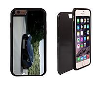 las carreras de diseño de coche 2 en 1 armadura híbrido de cuerpo completo de doble capa golpes protector de caja delgada para el iphone 6