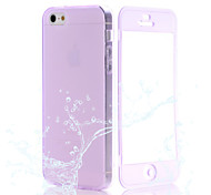 Transparent Flip Free Turn Touch TPU Phone Case for iPhone 6/6S(Assorted Colors)
