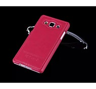 Special Design Fashion High-Grade Solid Color PU Leather Plastic Holster for Samsung Galaxy A5 (Assorted Colors)
