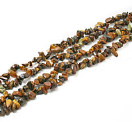 "Beadia Tiger Eye Stone Beads 5-8mm Irregular Shape DIY Loose Beads Fit Necklace Bracelet Jewelry 34""/Str"