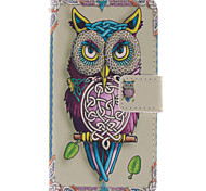 Magic Spider®Parrot Open PU Wallet Full Body Case with Screen Protector for Nokia Lumia N630