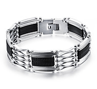 Titanium Steel Buckles Silicone Bracelet