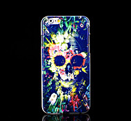 Skull Pattern Cover for iPhone 6 Case