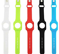 One Type of Silicone Watch Band for Apple Watch 38 MM(Assorted Colors)