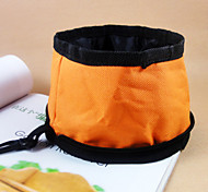 Fold The Water Bowl Zipper For Pets Dogs