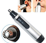 Electric Nose Ear Facial Hair Trimmer Cleaner Shaver Clipper High Security(Power 1 AA Battery)