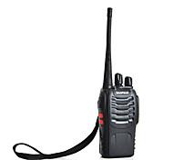 baofeng bf-888S walkie talkie de dos vías de radio interfono uhf 5w 400-470MHz de 16 canales (negro)
