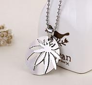 Unique Splittable Leaf Shape Necklace