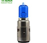 xencn m5 BA20d 12v 35 / 35w moto faro diamante blu di illuminazione chiaro lampadine alogene lampada auto