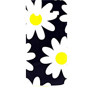 White Flowers Pattern TPU Soft Cover for Samsung Galaxy Core 4G G386F/G3518