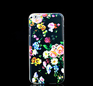 Aztec Mandala Flower Pattern Cover for iPhone 6 Plus Case