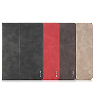 Rock Rotated Adsorbable Smart Sleep PU Leather Flip Case Cover for iPad mini 3