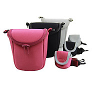 Dengpin DSLR Camera Shoulder Bag for Sony ILCE-A5000L A6000L A5100  NEX-5R 5T 3N  with Battery Bag (Assorted Colors)