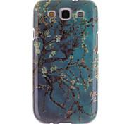 Blumenmuster tpu und IMD weiche Tasche für Samsung-Galaxie S3