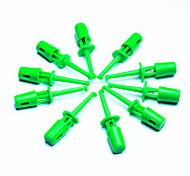 diy ponta da sonda de teste eletrônico - verde (pacote 10 peças)