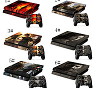 The Last of US Skin Decal Stickers for PS4 Playstation 4 Console & Two Controllers Skin for Free