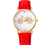Unisex Fashion Watch Bicycle Watches PU Leather Belt Ms. Universal Male Quartz Watch Cool Watches Unique Watches