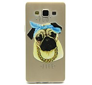 For Samsung Galaxy Case Transparent / Pattern Case Back Cover Case Dog TPU Samsung A5