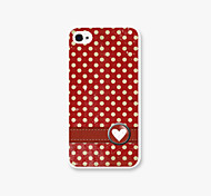 motif de points PC Phone affaire cas de couverture pour iPhone4 / 4S