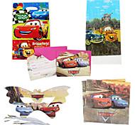 75pcs carros bebê decorações da festa de aniversário crianças evnent fontes do partido decoração festa 18 pessoas usam