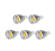 5 pcs Bestlighting GU10 9 W 1 X COB 750-800 LM  Warm White/Cool White PAR Dimmable Spot Lights AC 220-240/AC 110-130 V