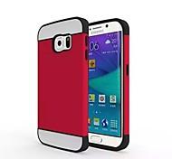 2 in 1 Entwurf zurück umkleiden für Samsung-Galaxie s6 (verschiedene Farben)