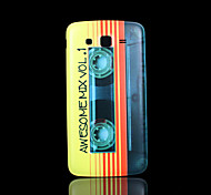 magneetband patroon deksel fo Samsung Galaxy Grand 2 g7106 case